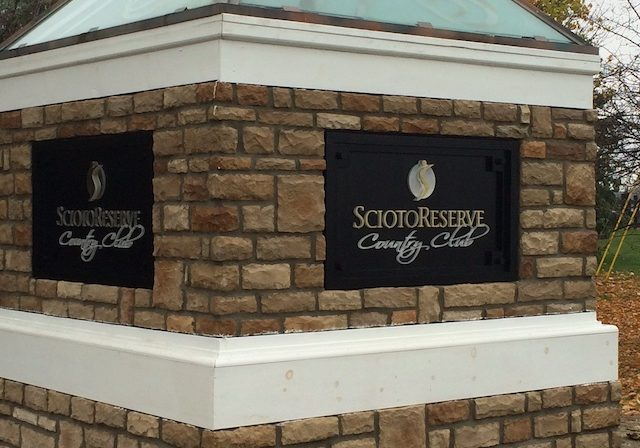 Scioto Reserve Entrance